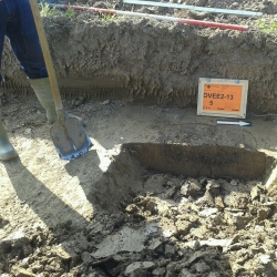 Crematiegraf uit ijzertijd bij Doornik