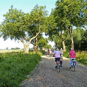 Veel animo voor Lingezegen-fietsexcursie Koos Dansen