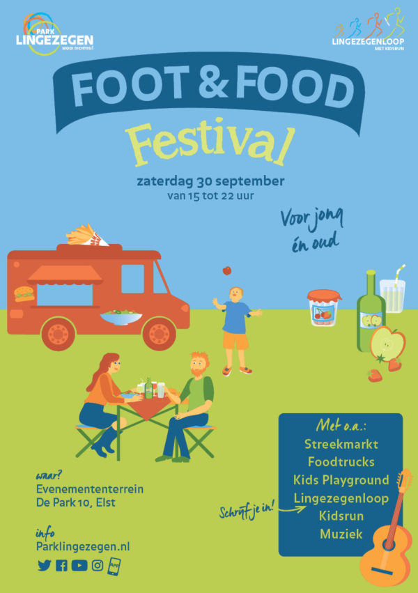 Flyer Foot &Food Festival